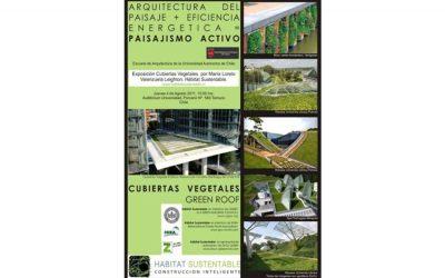 CHARLA ARQUITECTURA DEL PAISAJE Y CUBIERTAS VEGETALES UNIVERSIDAD AUTONOMA DE CHILE, TEMUCO